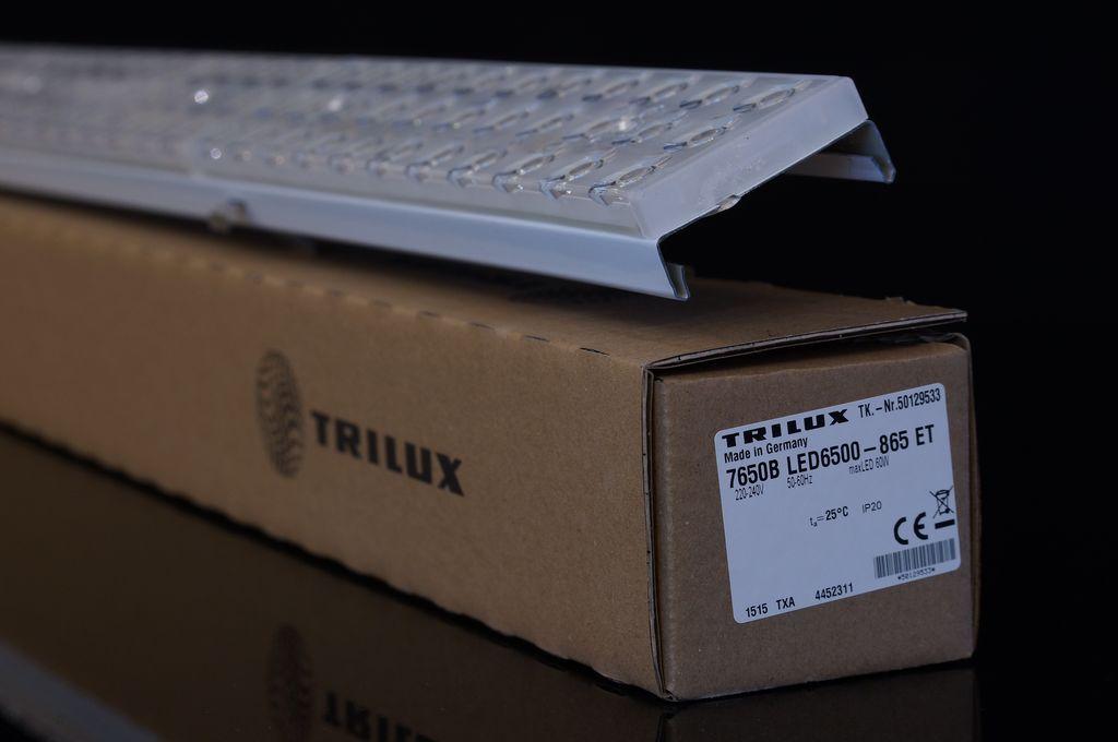trilux e line led leuchte 7650b led6500 865 tageslicht neu. Black Bedroom Furniture Sets. Home Design Ideas